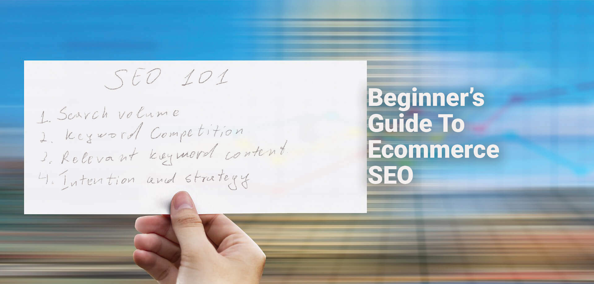 Beginner's Guide To eCommerce SEO