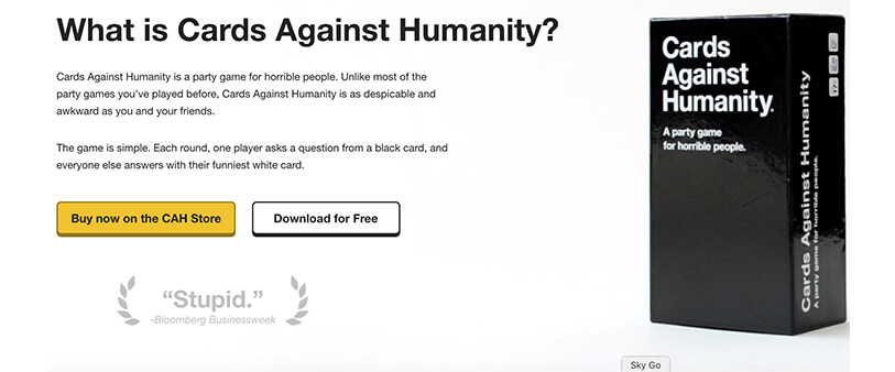 Cards Againts Humanity 2