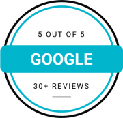google rating with 30+ reviews