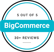 BigCommerce rating with 30+ reviews